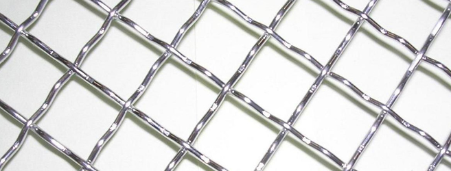 Square Hole Wire Mesh In Rolls Or Cut Pieces-Galvanized and ...